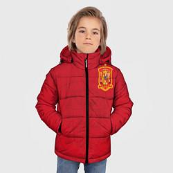 Куртка зимняя для мальчика Сборная Испании цвета 3D-черный — фото 2