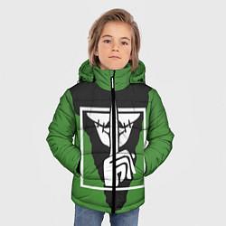 Куртка зимняя для мальчика Rainbow Six Siege: Caveira цвета 3D-черный — фото 2
