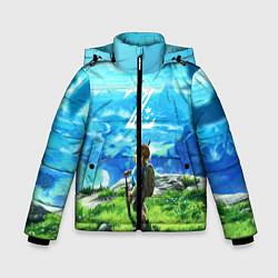 Куртка зимняя для мальчика Z-Link цвета 3D-черный — фото 1