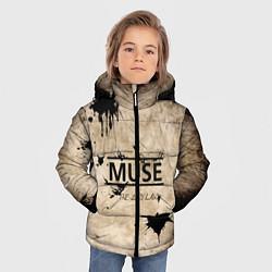 Куртка зимняя для мальчика Muse: the 2nd law цвета 3D-черный — фото 2