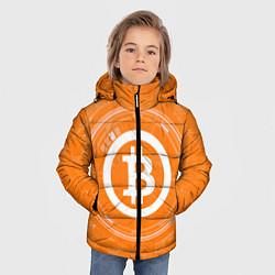 Куртка зимняя для мальчика Bitcoin Tech цвета 3D-черный — фото 2