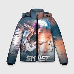 Куртка зимняя для мальчика Skillet: Korey Cooper цвета 3D-черный — фото 1