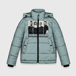 Куртка зимняя для мальчика The Cranberries цвета 3D-черный — фото 1