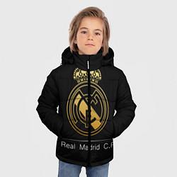 Куртка зимняя для мальчика FC Real Madrid: Gold Edition цвета 3D-черный — фото 2