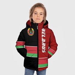 Куртка зимняя для мальчика Belarus Style цвета 3D-черный — фото 2