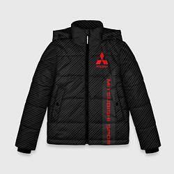 Куртка зимняя для мальчика Mitsubishi: Sport Line цвета 3D-черный — фото 1