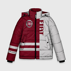 Куртка зимняя для мальчика Fiat цвета 3D-черный — фото 1