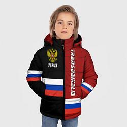 Куртка зимняя для мальчика Transbaikalia, Russia цвета 3D-черный — фото 2