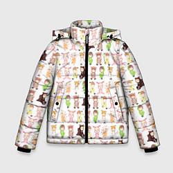 Куртка зимняя для мальчика MONSTA X 10 цвета 3D-черный — фото 1
