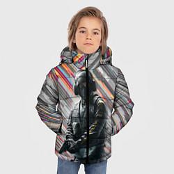 Куртка зимняя для мальчика Rainbow Six Siege цвета 3D-черный — фото 2