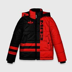 Куртка зимняя для мальчика МАЗ цвета 3D-черный — фото 1
