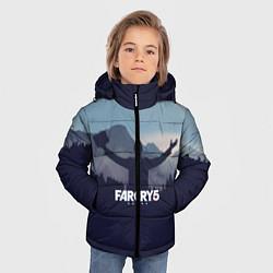 Куртка зимняя для мальчика Far Cry 5: Ave Joseph цвета 3D-черный — фото 2