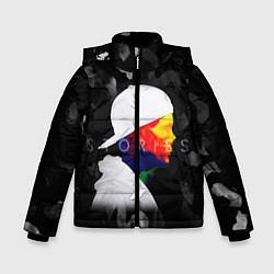 Куртка зимняя для мальчика Avicii: Stories цвета 3D-черный — фото 1