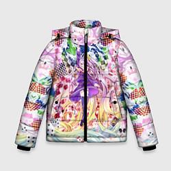 Куртка зимняя для мальчика No Game No Life 9 цвета 3D-черный — фото 1