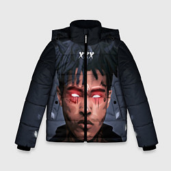 Куртка зимняя для мальчика XXXTentacion Demon цвета 3D-черный — фото 1