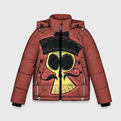 Куртка зимняя для мальчика Dia de los Muertos цвета 3D-черный — фото 1