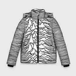Детская зимняя куртка для мальчика с принтом White Pleasures, цвет: 3D-черный, артикул: 10152526906063 — фото 1