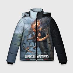 Куртка зимняя для мальчика Uncharted: The Lost Legacy цвета 3D-черный — фото 1