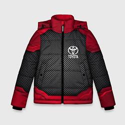 Куртка зимняя для мальчика Toyota: Metal Sport цвета 3D-черный — фото 1