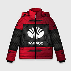 Куртка зимняя для мальчика Daewoo Sport цвета 3D-черный — фото 1