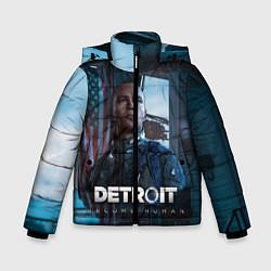 Куртка зимняя для мальчика Detroit: Markus цвета 3D-черный — фото 1