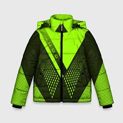 Куртка зимняя для мальчика Judo: Sport Style цвета 3D-черный — фото 1