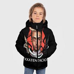 Куртка зимняя для мальчика XXXTentacion: Angel & Demon цвета 3D-черный — фото 2