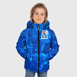Куртка зимняя для мальчика KSI Iceland Winter цвета 3D-черный — фото 2