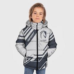 Куртка зимняя для мальчика Team Liquid: Grey E-Sport цвета 3D-черный — фото 2
