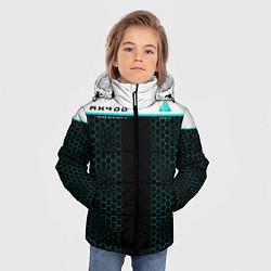 Куртка зимняя для мальчика AX400: Detroit Human цвета 3D-черный — фото 2