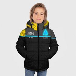 Куртка зимняя для мальчика JB300 Android цвета 3D-черный — фото 2