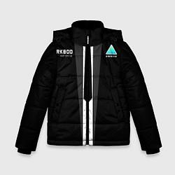 Куртка зимняя для мальчика RK800 Android Black цвета 3D-черный — фото 1