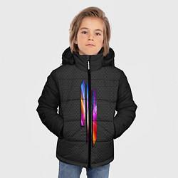 Куртка зимняя для мальчика Skrillex III цвета 3D-черный — фото 2