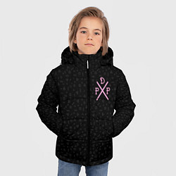 Куртка зимняя для мальчика Pew Die Pie цвета 3D-черный — фото 2