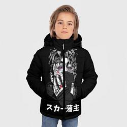 Куртка зимняя для мальчика Scarlxrd: hieroglyphs - фото 2