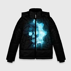 Куртка зимняя для мальчика Gears of War: Death Shadow цвета 3D-черный — фото 1