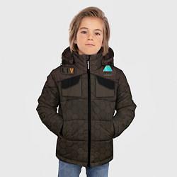 Куртка зимняя для мальчика Detroit: Delivery Man цвета 3D-черный — фото 2