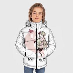 Куртка зимняя для мальчика Don't Starve: Wendy цвета 3D-черный — фото 2