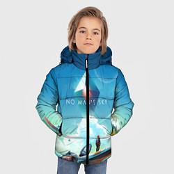 Куртка зимняя для мальчика No Man's Sky: Atlas Rises цвета 3D-черный — фото 2