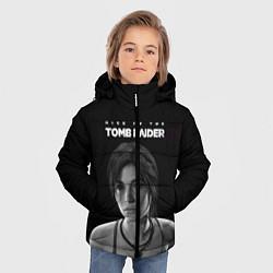 Куртка зимняя для мальчика Rise if The Tomb Raider цвета 3D-черный — фото 2