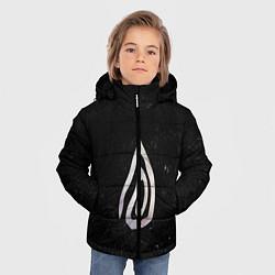 Куртка зимняя для мальчика True Detective: Black Symbol цвета 3D-черный — фото 2