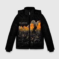 Куртка зимняя для мальчика True Detective: Fire цвета 3D-черный — фото 1