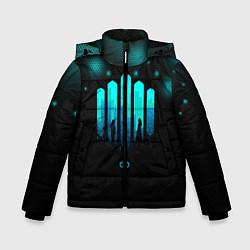 Куртка зимняя для мальчика The 100: City цвета 3D-черный — фото 1