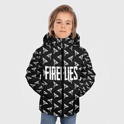 Куртка зимняя для мальчика Fireflies цвета 3D-черный — фото 2