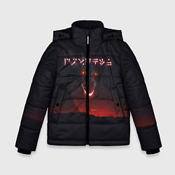 Куртка зимняя для мальчика TES: Hell Dragon цвета 3D-черный — фото 1