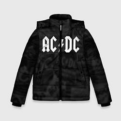 Куртка зимняя для мальчика AC/DC: Black Rock цвета 3D-черный — фото 1
