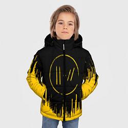 Куртка зимняя для мальчика 21 Pilots: Black Side цвета 3D-черный — фото 2