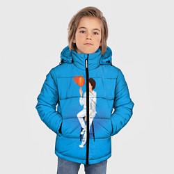 Куртка зимняя для мальчика BTS Suga цвета 3D-черный — фото 2