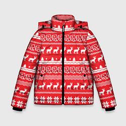 Куртка зимняя для мальчика Roblox: NY Pattern цвета 3D-черный — фото 1