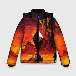 Куртка зимняя для мальчика No Man's Sky: Red Dust цвета 3D-черный — фото 1